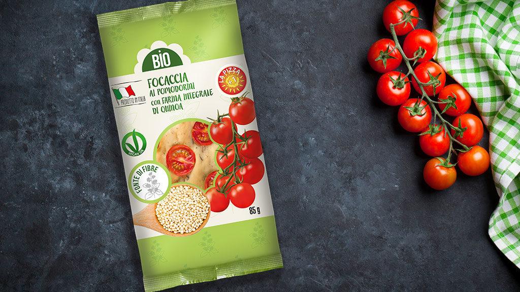 Pizza+1 Focaccia con Pomodorini