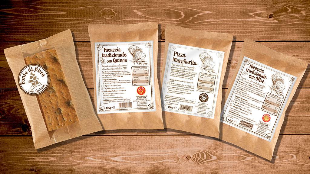 Pizza+1 packaging vari