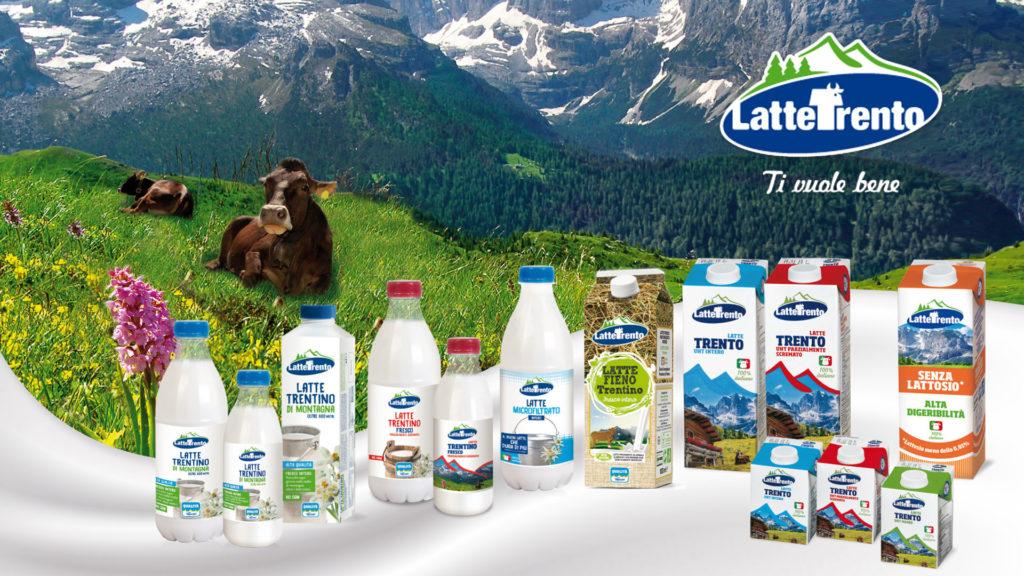 Packaging Latte Trento